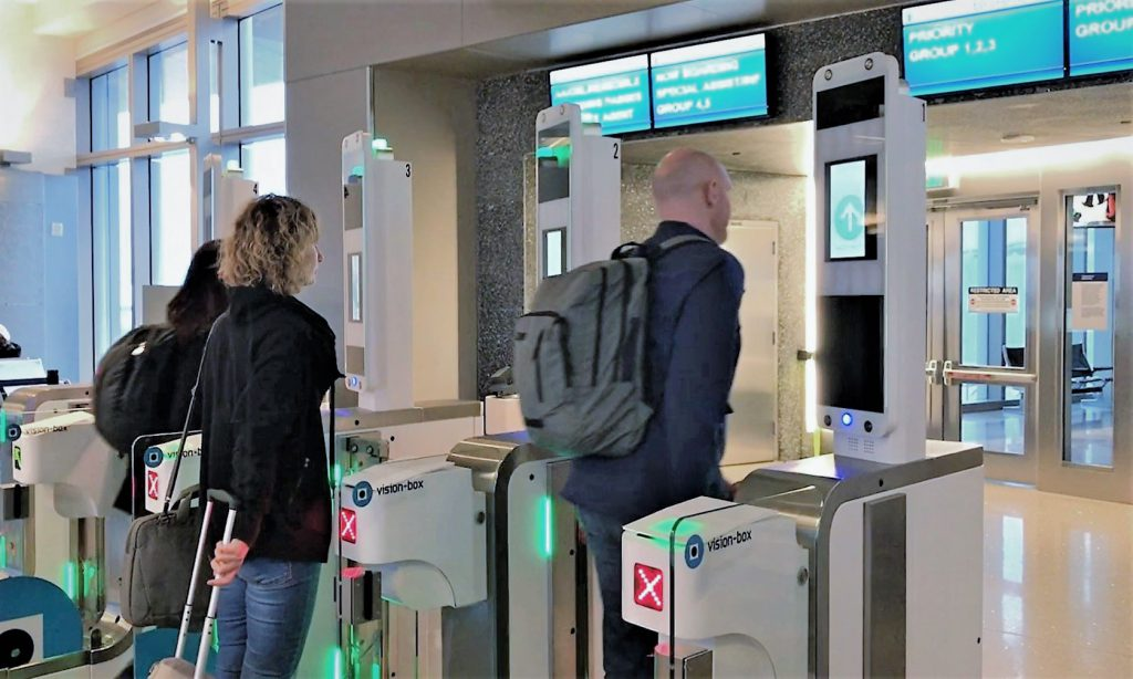 Vision Box Los Angeles Airport Progresses Biometric Boarding Trial